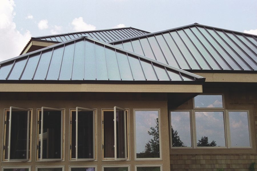 Standing seam metal roofs for kentucky southern indiana for Tin roof house plans