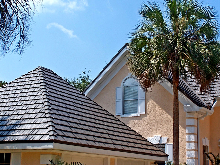 Rustic shingle metal roofing for kentucky southern for Rustic roof