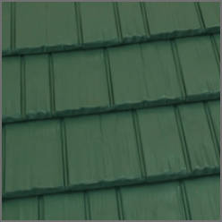 Rustic Shingle in Forest Green