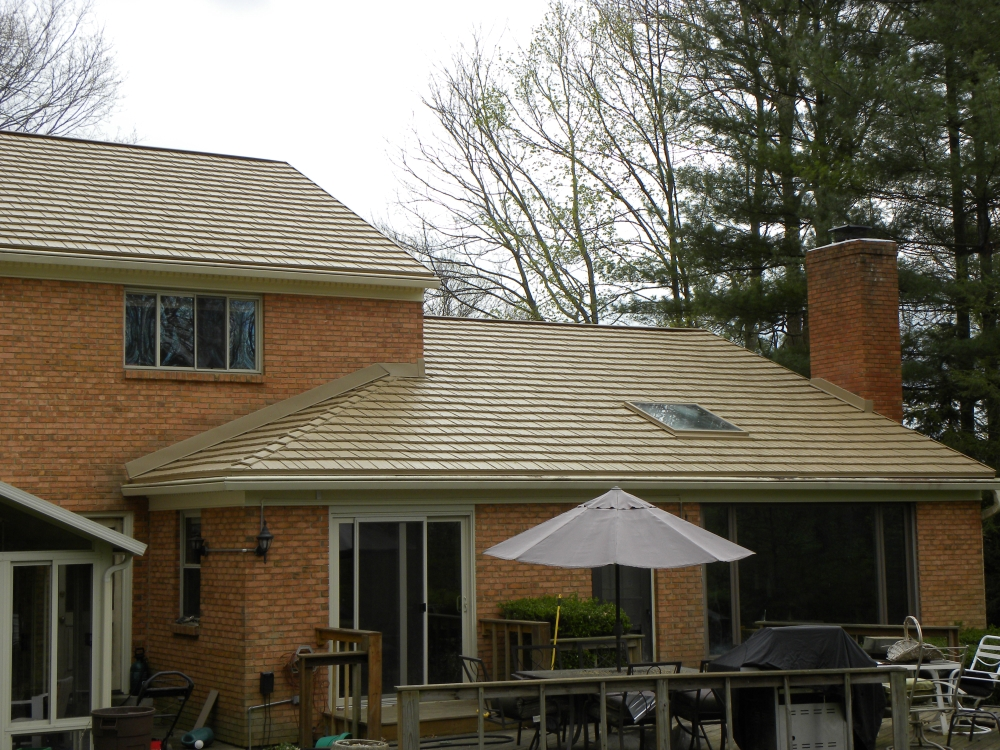 Dulley chose a vented ridge for even more energy efficiency.
