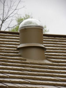 Even unusual roof penetrations are not a problem for a Classic roof.